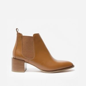 Everlane The Heel Boot - Cognac